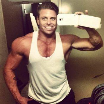 Sydney male stripper Davey