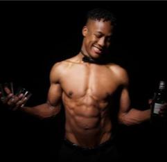 Perth male stripper Andre