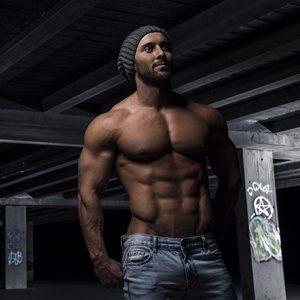 Brisbane stripper Brad is a male stripper