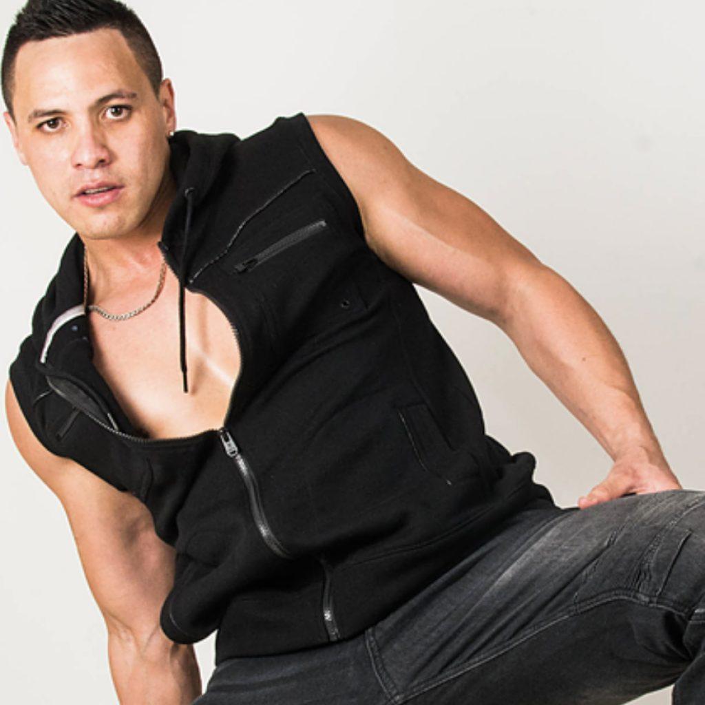 Brisbane stripper Brendon is a male stripper