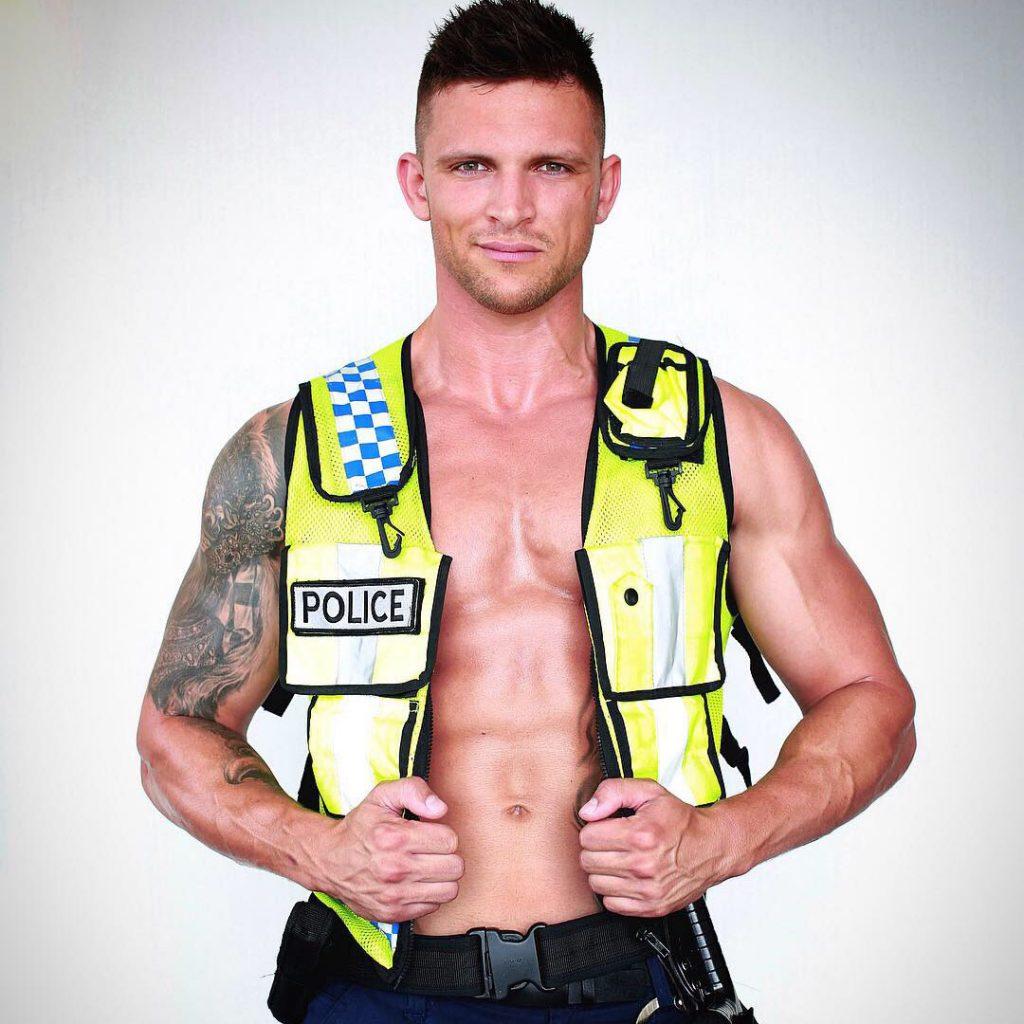 Perth male stripper Dallas