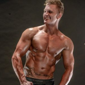 Sydney male stripper Dave