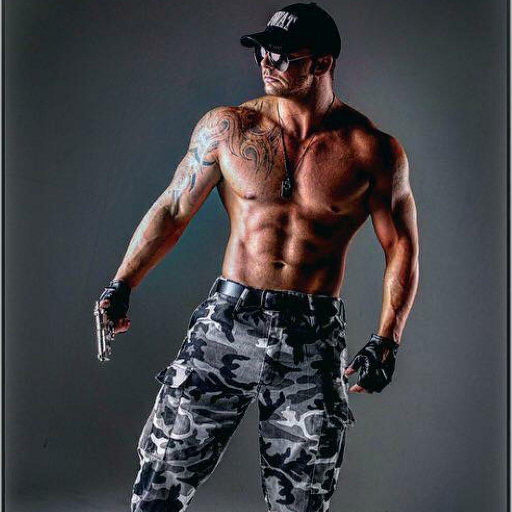 Hunter Valley male stripper Kahn