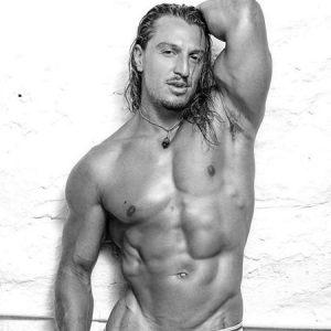 Sydney male stripper Marco