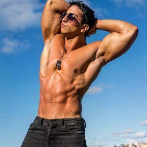 Sydney male stripper Neilhson