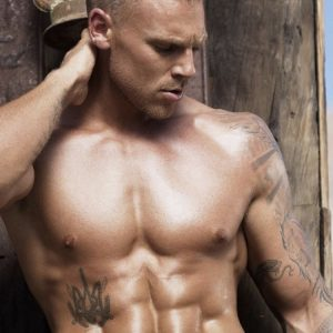 Sydney male stripper Rudi