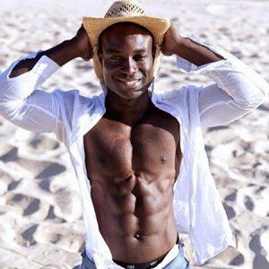 Sydney male stripper Eddie