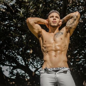 Sydney male stripper Gus