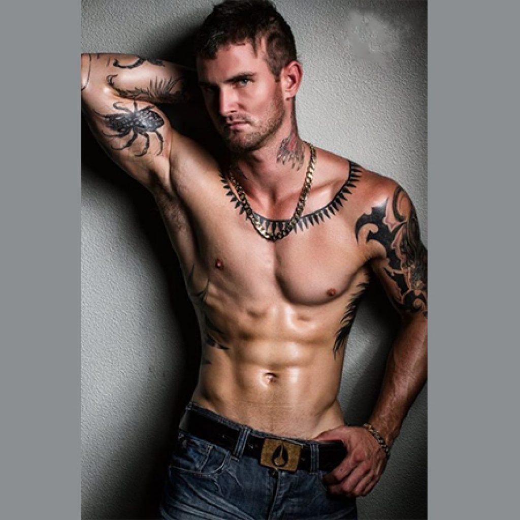 Townsville male stripper Matt