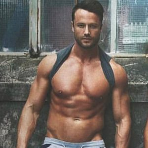 Sydney male stripper Blake